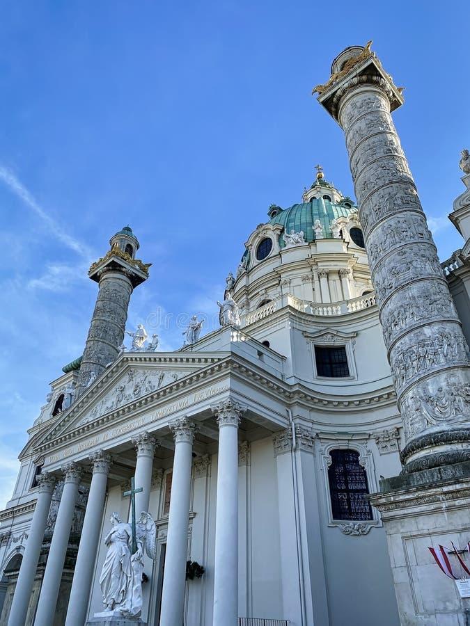 Karlskirche Viena imágenes de archivo libres de regalías