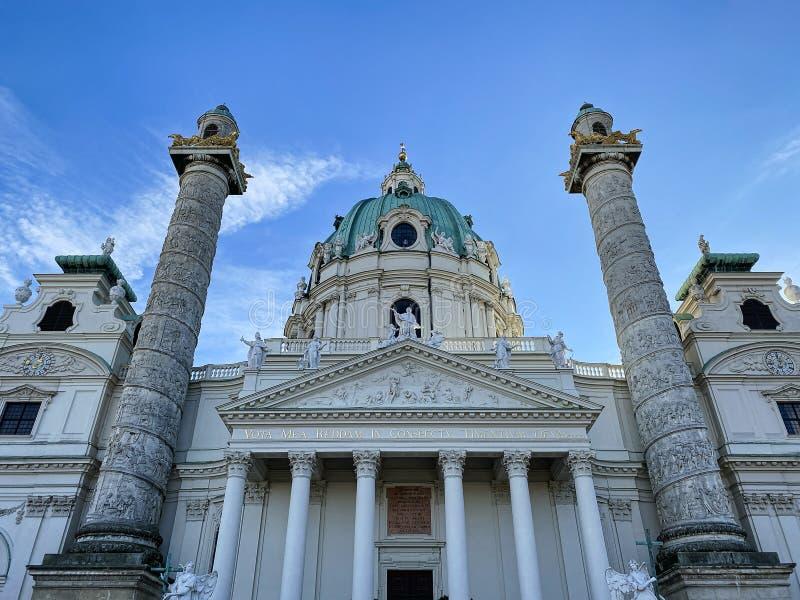 Karlskirche Viena foto de archivo libre de regalías