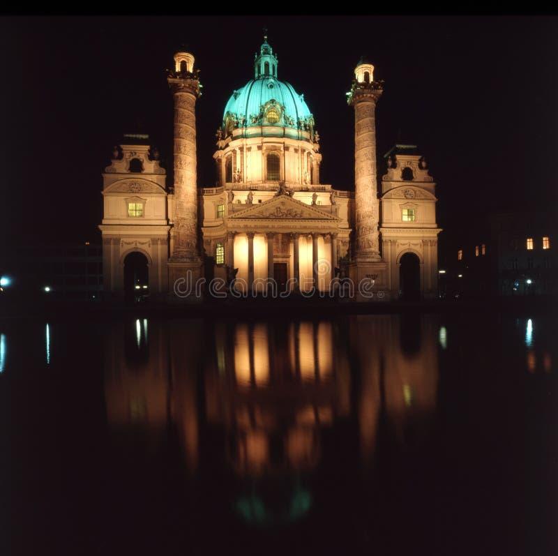 Karlskirche, Vienna, Austria royalty free stock images