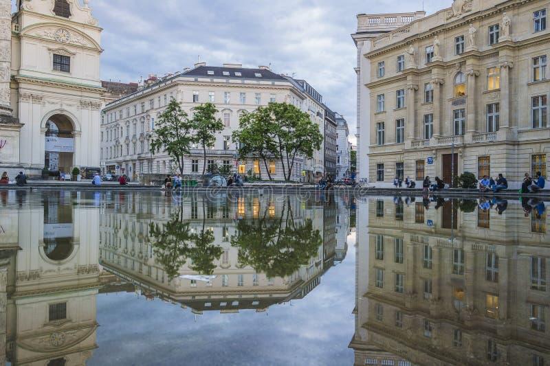 Karlsplatz stockfotografie