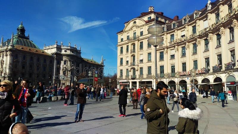 Karlsplatz di Monaco di Baviera immagini stock libere da diritti