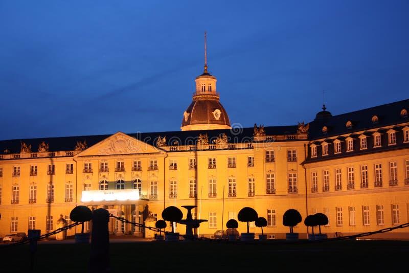 Karlsruhe Palace at night