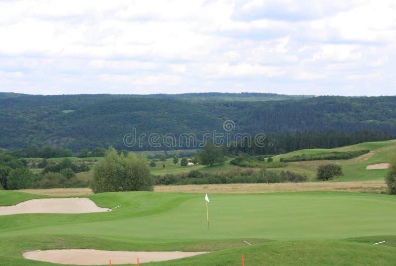 Karlstein golf course stock photos