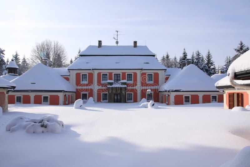 karlstejn宫殿 库存图片