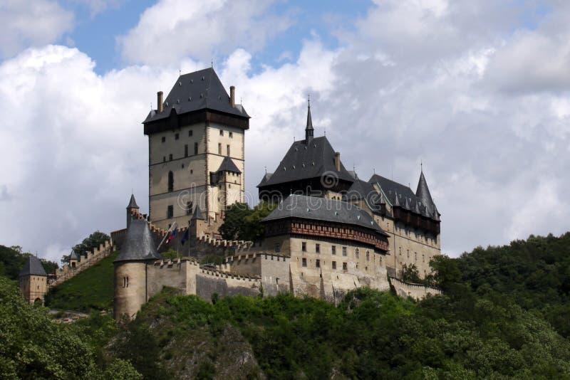 karlstejn замока стоковые изображения rf
