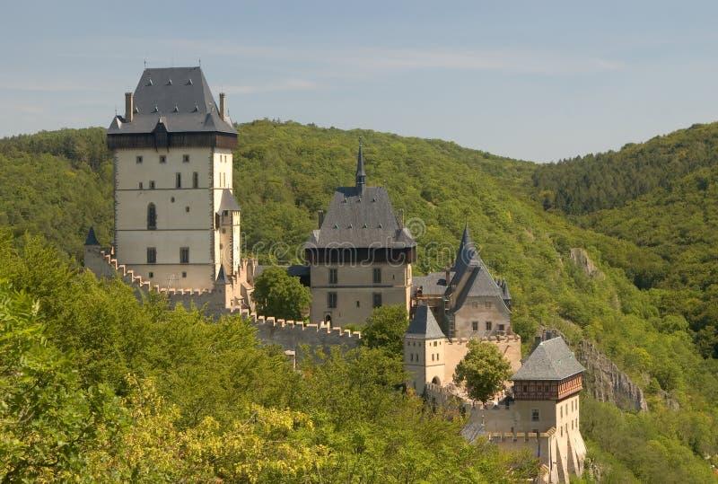 Karlstejn castle royalty free stock image