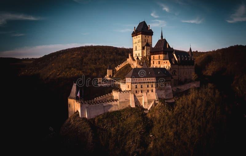 Karlstejn Castle stock photos