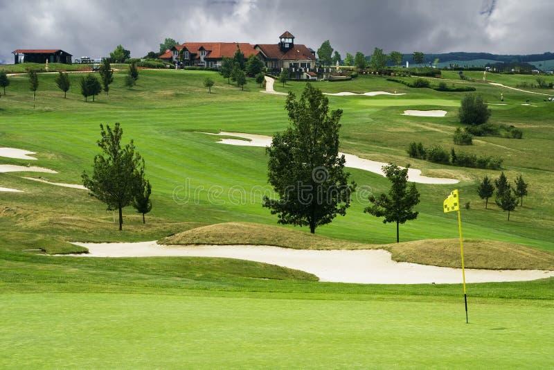 karlstejn kursu golfa, zdjęcie royalty free