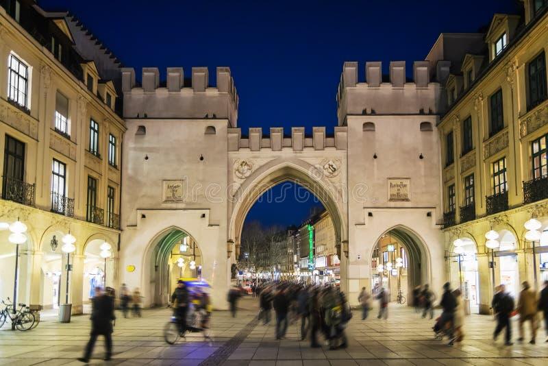 Karlstor Munich fotografía de archivo libre de regalías