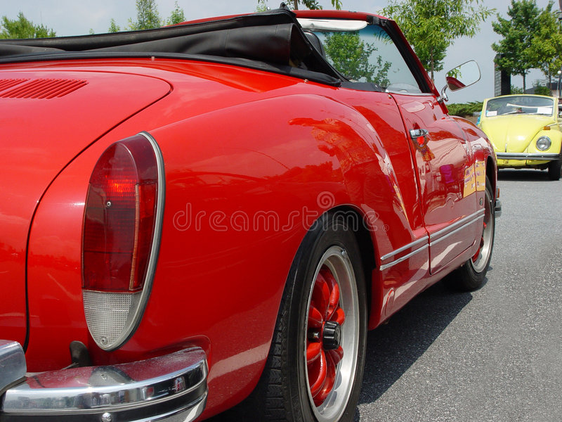 Karmann Ghia Image stock