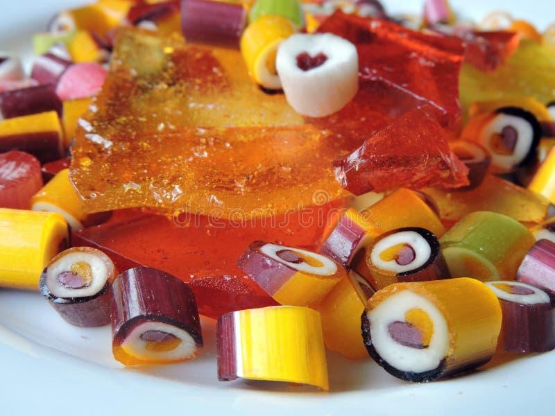 Karmel cukierki fotografia stock