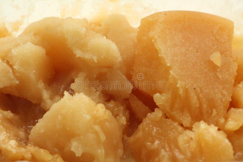 Karmelizowany miód naturalny obrazy royalty free