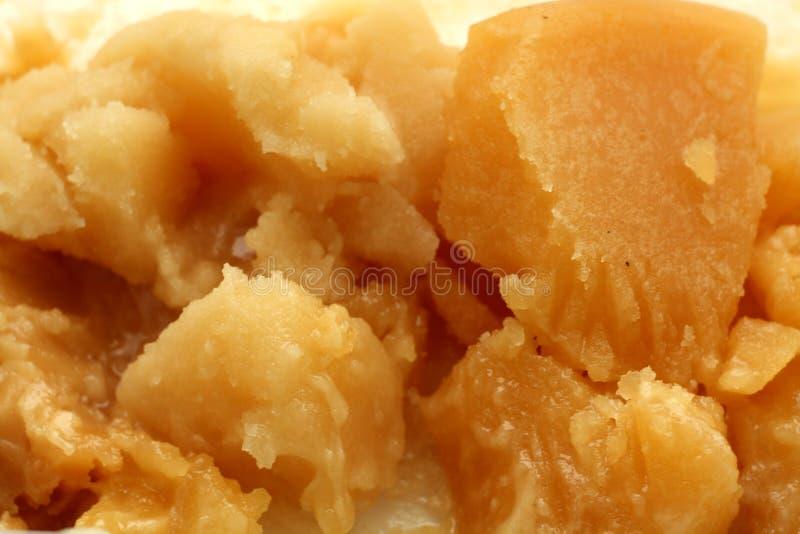 Karmelizujący naturalny miód obrazy stock