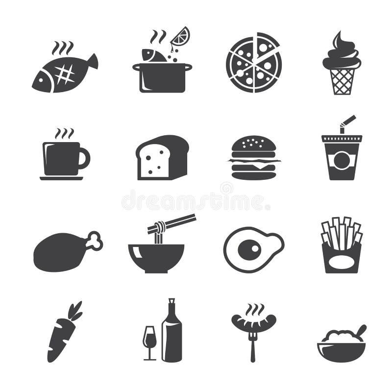 Karmowa ikona ilustracji