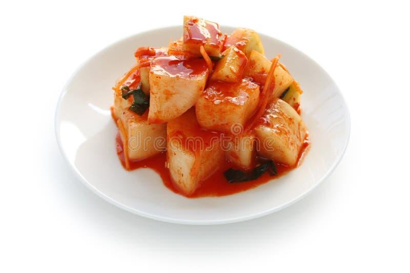karmowa kimchi koreańczyka rzodkiew fotografia stock