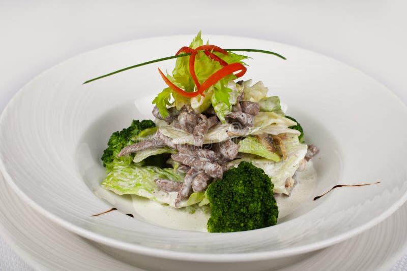 Karmowa restauracja dla menu zdjęcia royalty free