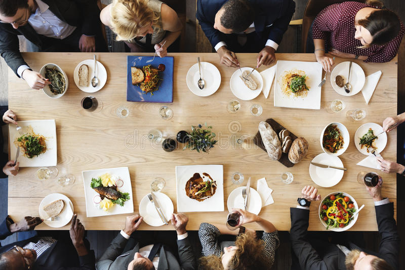 Karmowej catering kuchni smakosza przyjęcia Kulinarny pojęcie fotografia stock