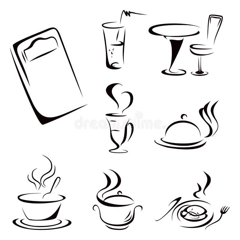 Karmowi symbole ilustracji