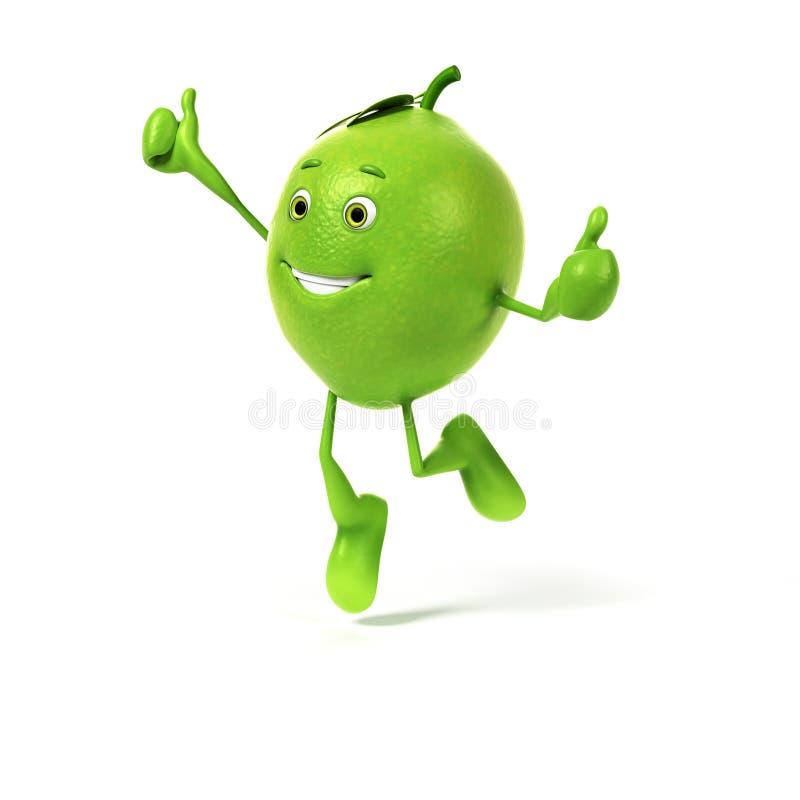 Download Karmowy charakter - wapno ilustracji. Ilustracja złożonej z greenbacks - 28963108