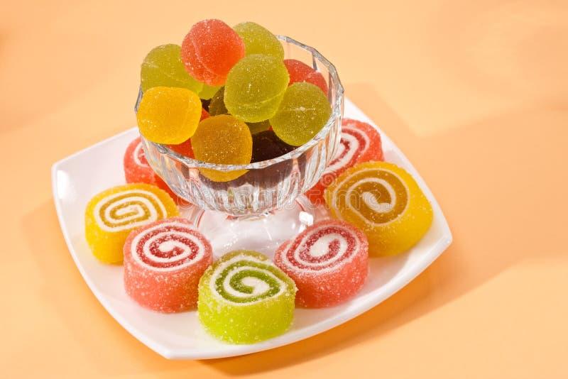 karmowy cukierki zdjęcia stock