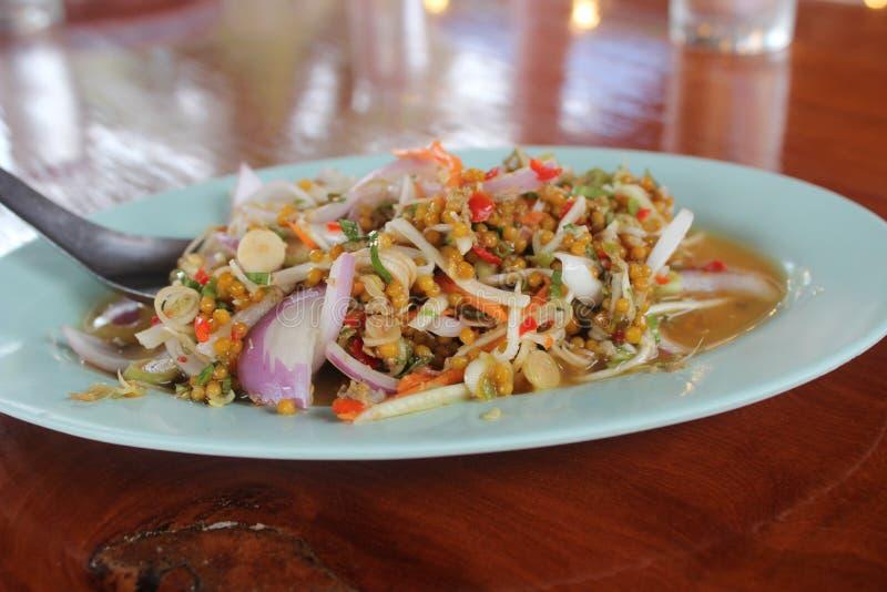 Karmowy korzenny w Tajlandia i gorący obrazy stock