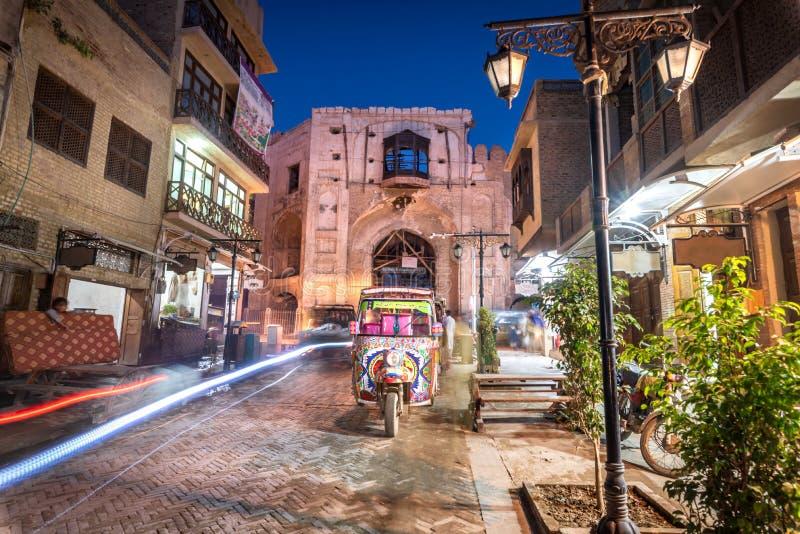Karmowy Uliczny Kpk Pakistan zdjęcie stock