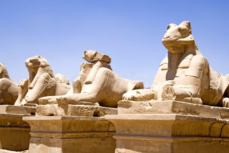 karnak świątyni obraz stock