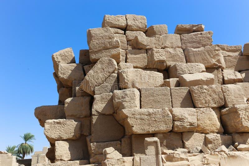 Karnak świątynia - Egipt obraz royalty free