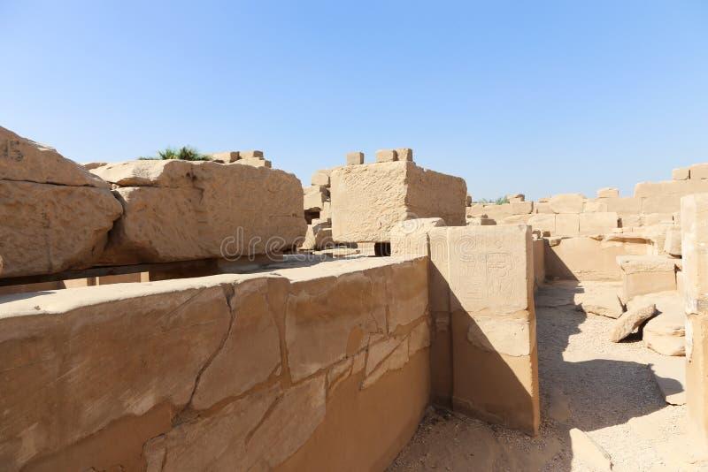 Karnak świątynia - Egipt zdjęcie royalty free
