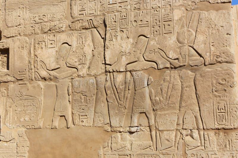 Karnak świątynia - Egipt zdjęcia royalty free