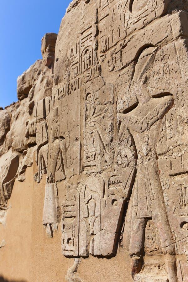 Karnak świątynia - Egipt zdjęcia stock