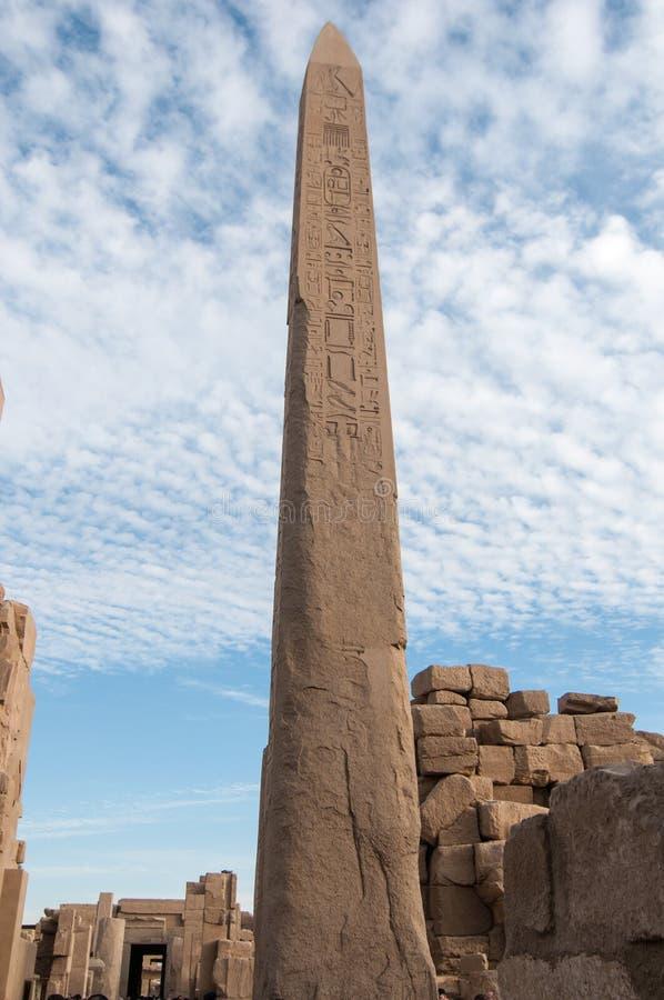 Karnak świątynia - Luxor, Egipt, Afryka zdjęcia royalty free