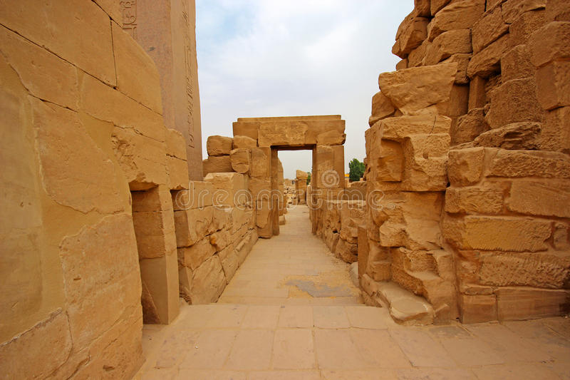 Karnak świątynia w Luxor (Thebes) Egipt obraz royalty free