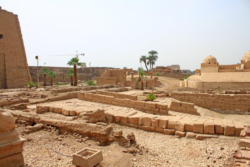 Karnak świątynia w Luxor (Thebes) Egipt obraz stock