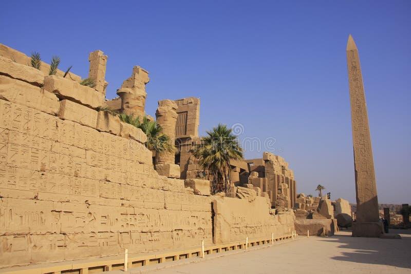 Karnak świątynny kompleks, Luxor fotografia royalty free