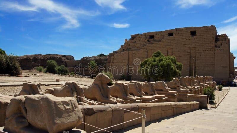 Karnak imagen de archivo