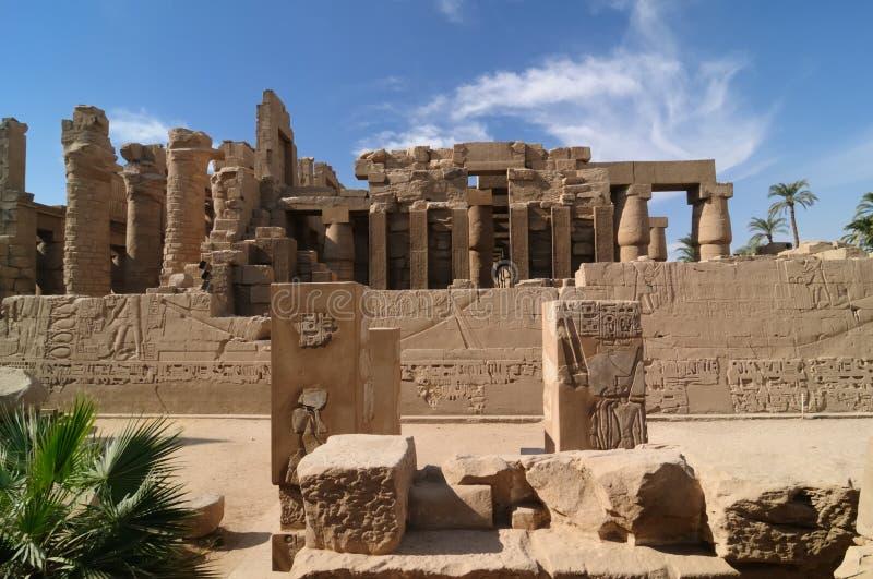karnak de l'Egypte image libre de droits