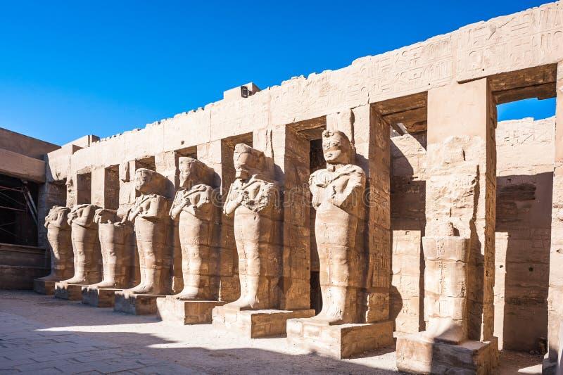 karnak egiptu Luxor świątyni fotografia royalty free