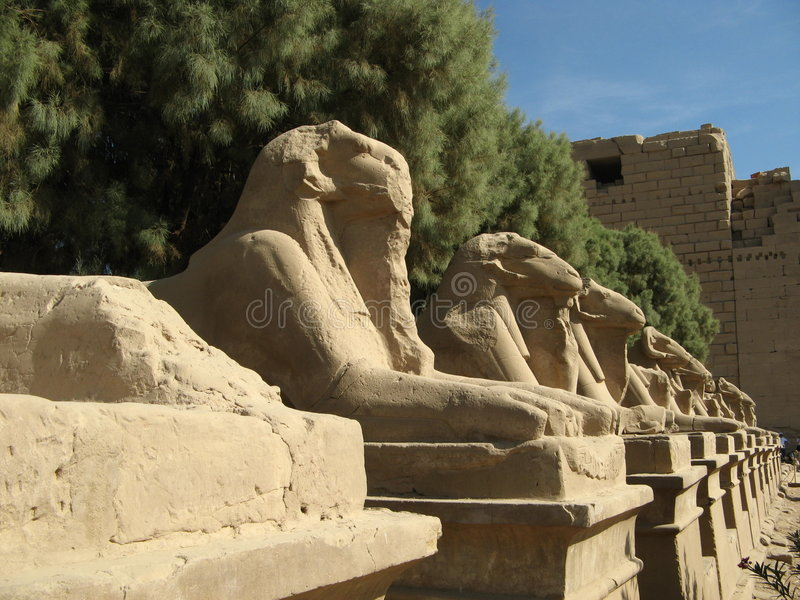 Karnak, Luxor Royalty Free Stock Images