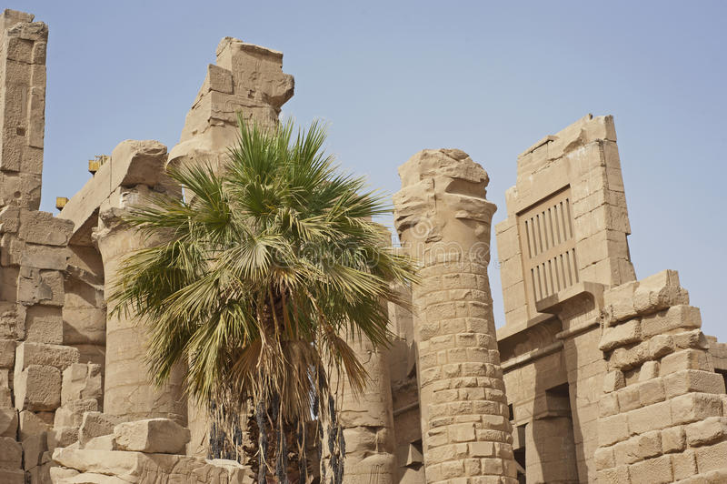 karnak Luxor rujnuje świątynię zdjęcia royalty free