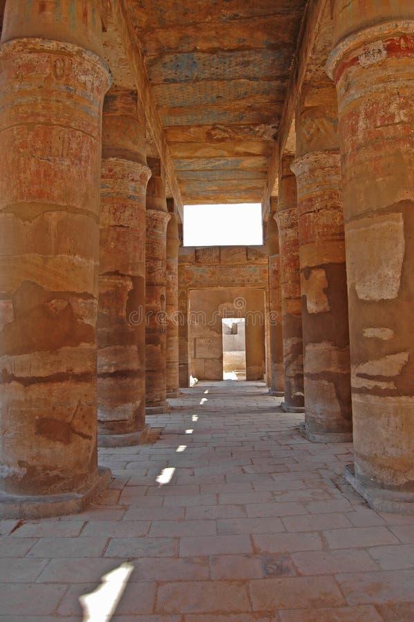 Karnak Tempel, Ägypten stockfotografie