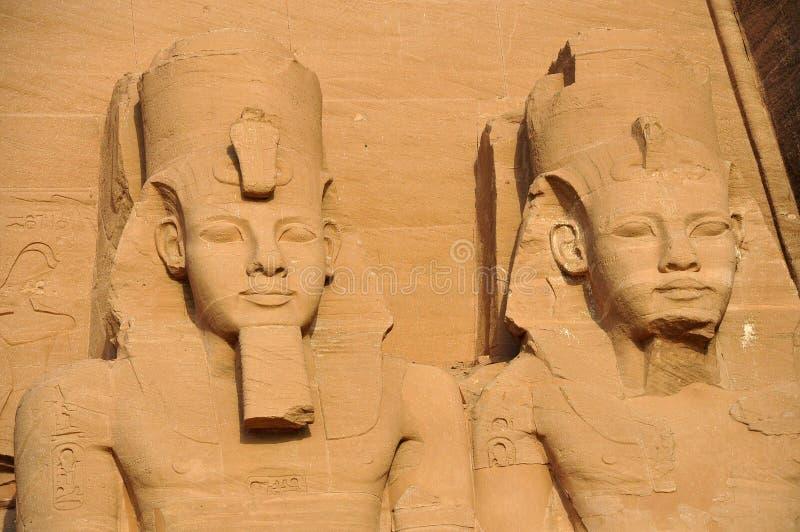 Karnak-Tempel in Ägypten stockbilder