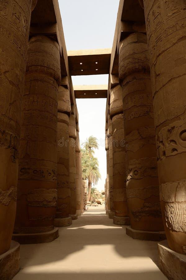 Karnak-Tempel in Luxor Ägypten stockfoto