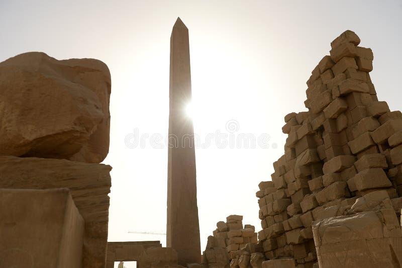 Karnak-Tempel in Luxor Ägypten lizenzfreie stockfotos