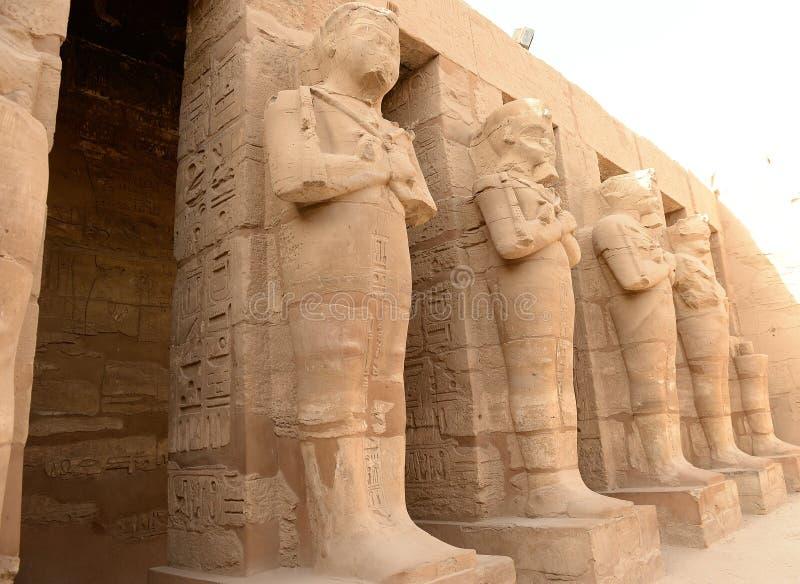 Karnak-Tempel in Luxor Ägypten lizenzfreie stockbilder