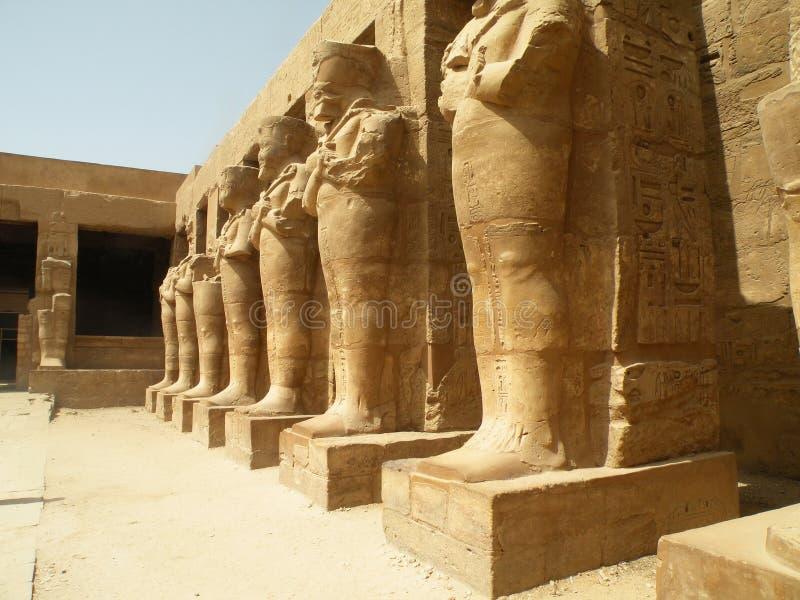 Karnak-Tempelruinen, Ägypten lizenzfreie stockfotografie