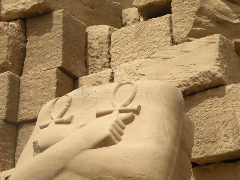 Karnak Tempelruinen lizenzfreie stockfotos