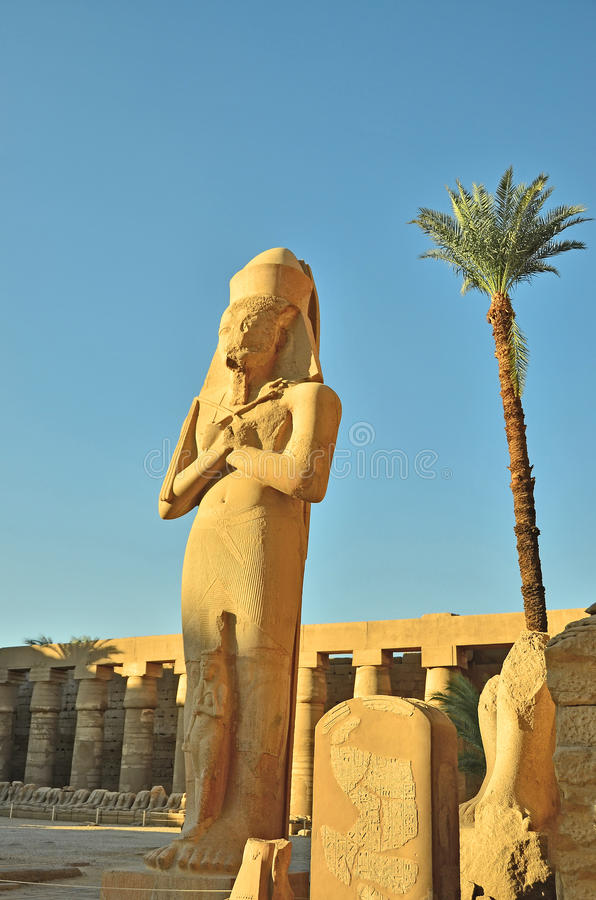 Download Karnak temple, Egypt stock photo. Image of ruin, construction - 21926036