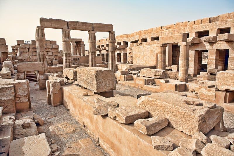 Karnak temple in Luxor. Egypt royalty free stock images