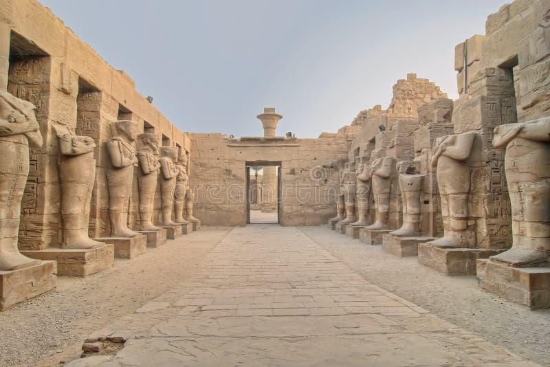 Karnak temple in Luxor. Egypt royalty free stock photos